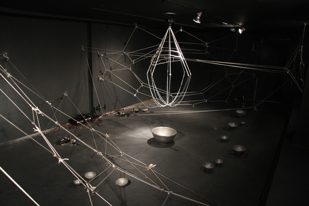Maia Marinelli's SoundStorm at the LAB Gallery  in  New York City.
